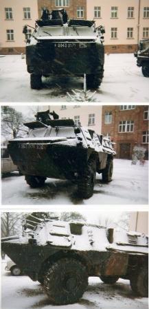 St. Wendel, เยอรมนี: VAB en hiver 1996