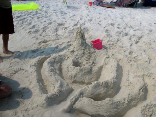 เดสติน, ฟลอริด้า: our sand castle we made