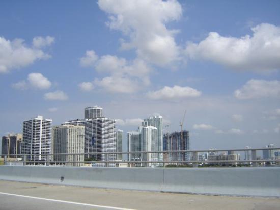 ไมอามี่ีบีช, ฟลอริด้า: miami city vista dal ponte