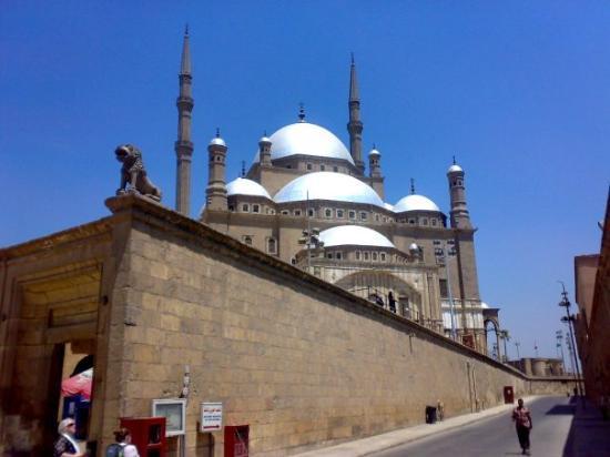 Citadel (Al-Qalaa): Alabaster Mohamed Ali's Mosque