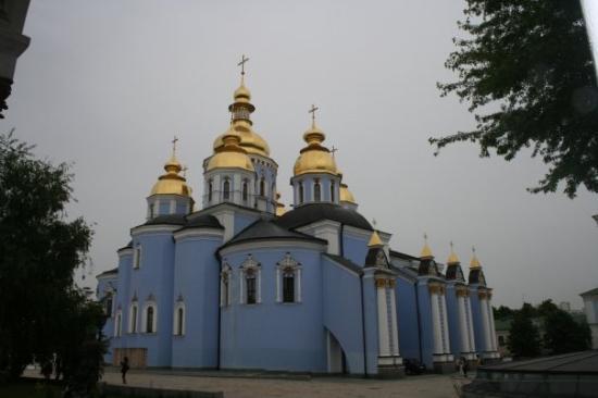 เคียฟ, ยูเครน: Klosterkirche St. Michael [Михайлівський золотоверхий монастир]