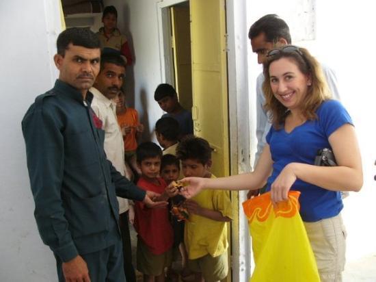 Ranthambore National Park, อินเดีย: School for the mentally hanicapped, Ranthambhore