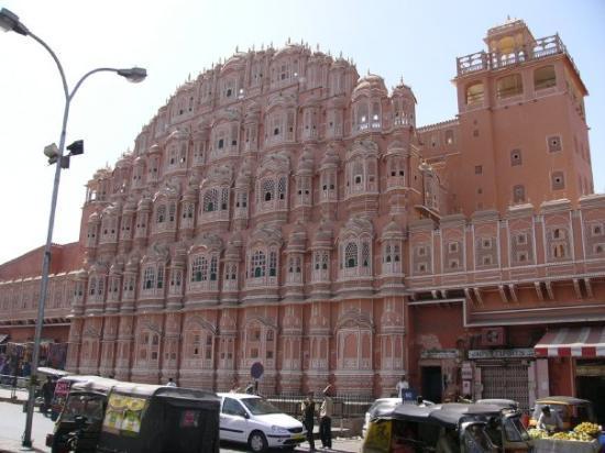 ชัยปุระ, อินเดีย: The Palace of the Winds, Jaipur