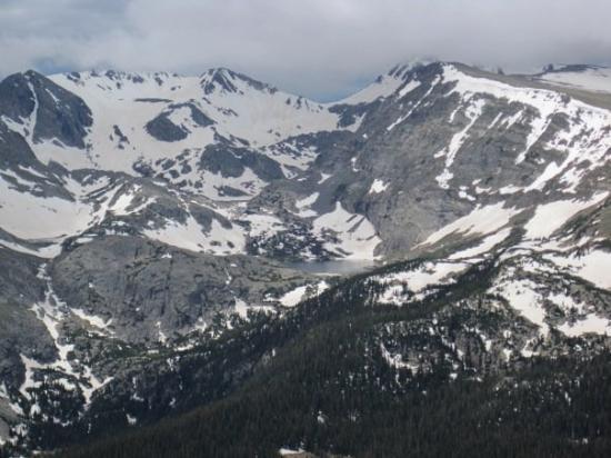 Rocky Mountain National Park, โคโลราโด: The view from 12,200 feet.