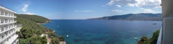 Sirene Blue Resort: Poros, Grèce Vue depuis la chambre de l'hotel