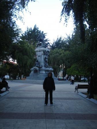 ปุนตาอาเรนัส, ชิลี: Plaza de Punta Arenas, Chile. Feb 2009