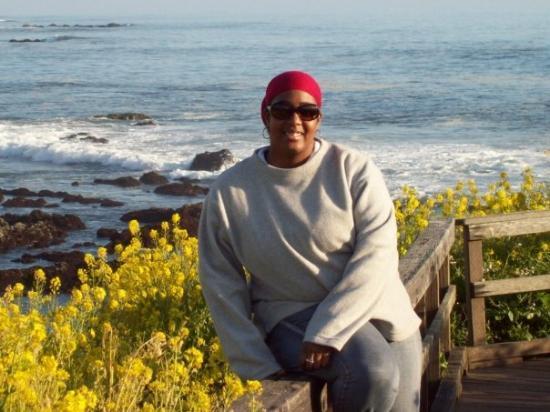 แคมเบรีย, แคลิฟอร์เนีย: Me and the ocean and the flowers and ...