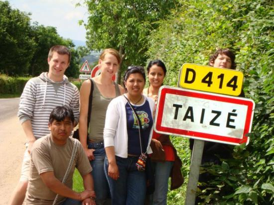 Taize, ฝรั่งเศส: ¿Dónde estamos?