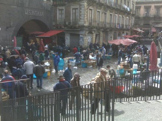 A' Piscaria Mercato del Pesce: Mercato del Pesce di S. Agata a Catania