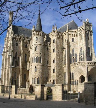 Astorga, สเปน: palacio de gaudi