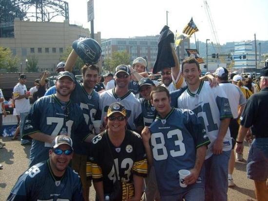 Heinz Field: Seahawks SteAlers game 2007