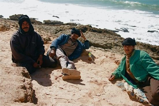 Ad Dakhla, ซาฮาราตะวันตก: Pêcheurs Saraouï à Dakhla.