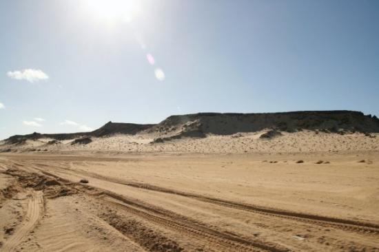 Ad Dakhla, ซาฮาราตะวันตก: Dakhla océan et desert.