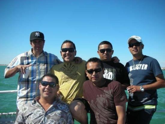 """Puerto Penasco, เม็กซิโก: Auch! Todos los """"Hombres"""" jajajaja"""