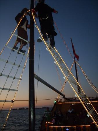 Puerto Penasco, เม็กซิโก: Barco Pirata