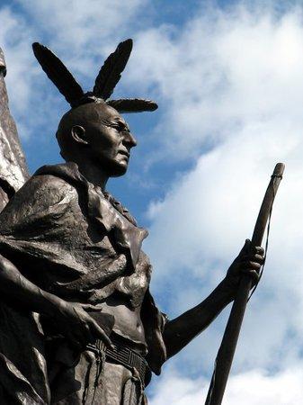 Gettysburg, PA: Tamany Regiment memorial