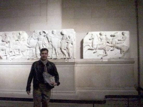 บริติชมิวเซียม: Mármoles de Elgin, Museo Británico, Londres, Inglaterra
