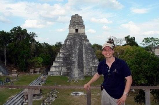 วิหารที่ 1: Estructura I, Tikal, Guatemala