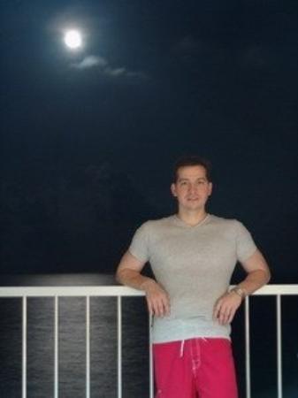 Condominios Carisa y Palma: Luna sobre Cancún, Quintana Roo, México