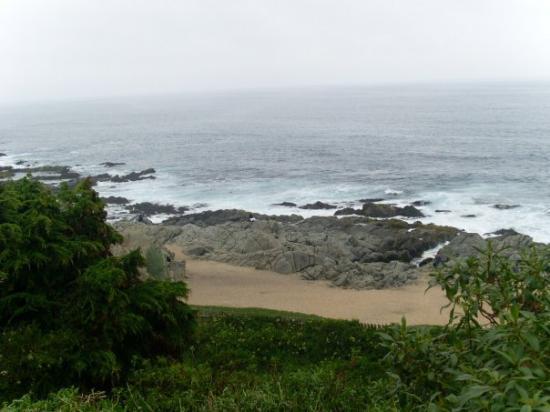vista desde la casa Pablo Neruda. Isla Negra