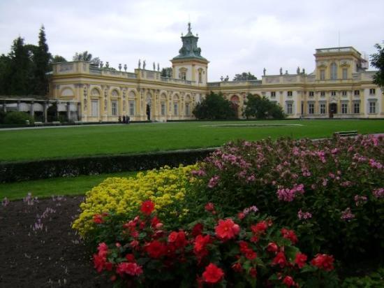 วอร์ซอ, โปแลนด์: Palacio Wilanow... Varsovia (Polonia)