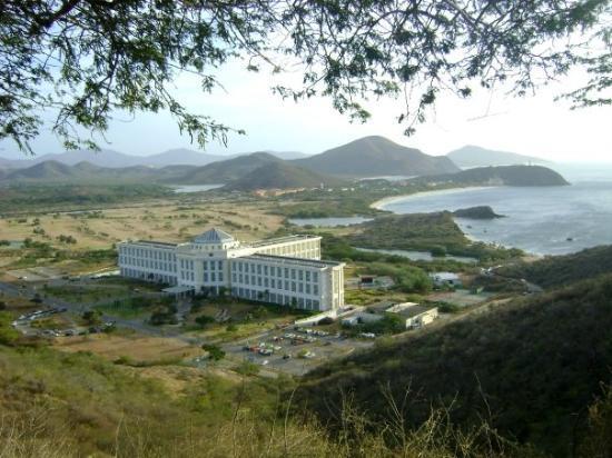 Hesperia Isla Margarita: Vista panoramica del Hotel Hesperia Margarita