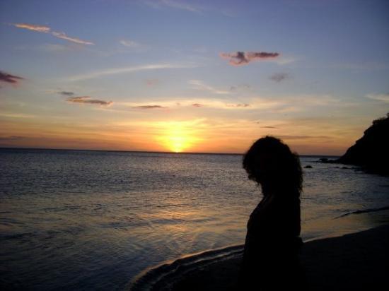 เกาะมาร์การีตา, เวเนซุเอลา: Atardecer en la playa de Puerto Viejo