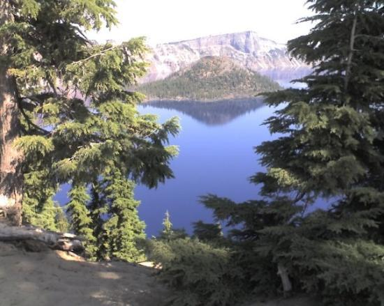 Crater Lake National Park: The magestic Crater Lake at the end of an extended climb.