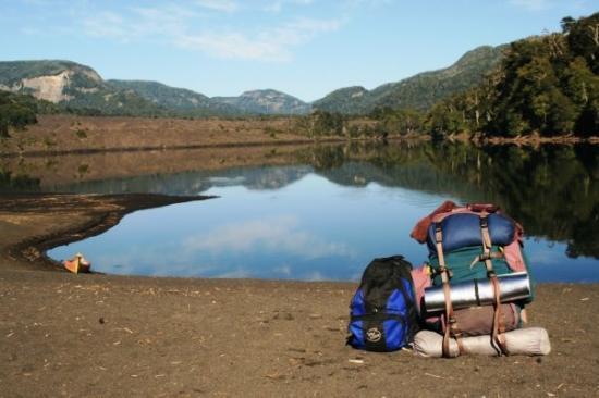 Lanin National Park, อาร์เจนตินา: La gran Mochi y el Iglú cumplieron 17 años en la ruta... qué viejos están!!!