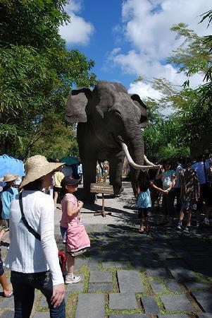 Bali Safari & Marine Park: ganesha court