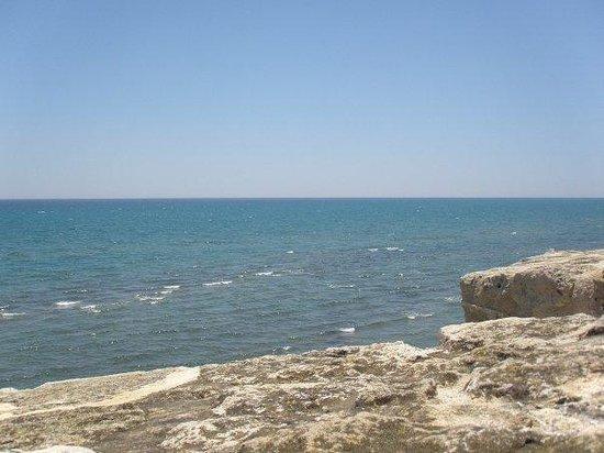 ลาร์นากา, ไซปรัส: View from the a castle in Larnaca, Cyprus