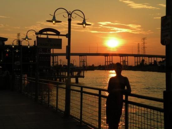 ฮูสตัน, เท็กซัส: Sunset in Galveston - Texas