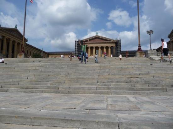 ฟิลาเดลเฟีย, เพนซิลเวเนีย: La scalinata di roky a Philadelphia