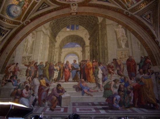 พิพิธภัณฑ์วาติกัน: La Academia, en los Museos Vaticanos