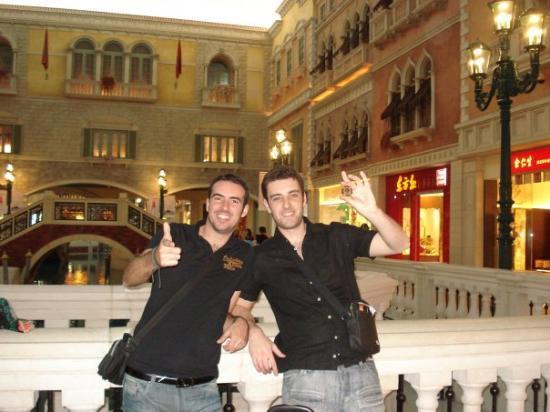 Casino at Venetian Macao: APRES AVOIR GAGNE LE MILION
