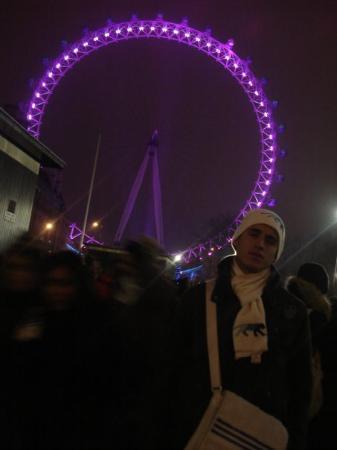 ลอนดอนอาย: London eye 31/12/2008