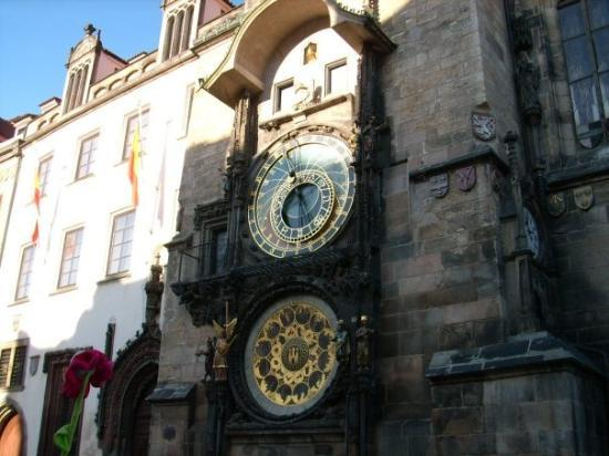 Old Town Hall with Astronomical Clock ภาพถ่าย