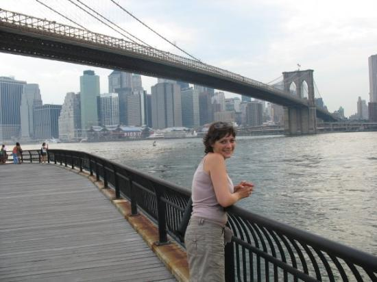 สะพานบรู๊คลิน: New York, État de New York, États-Unis