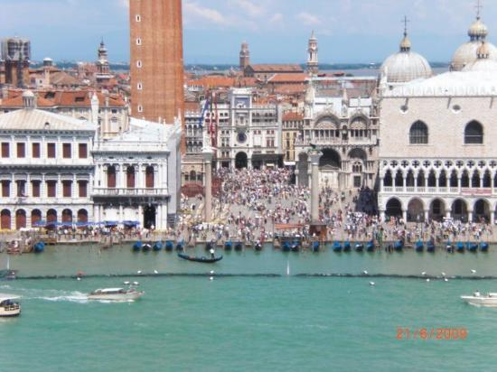 St. Mark's Square: Piazza San Marco from the ship