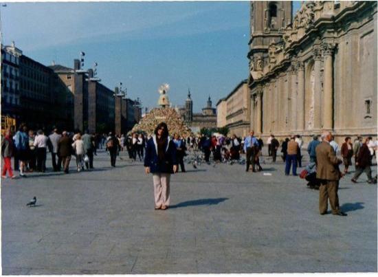 Basilica de Nuestra Senora del Pilar: En Zaragoza