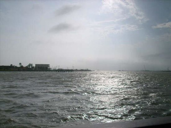 พอร์ตแอรานซัส, เท็กซัส: Atardecer en el Mar..