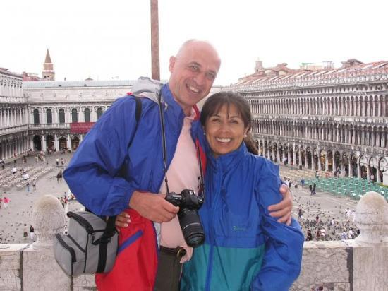 St. Mark's Square: Piazza San Marco en dia de lluvia