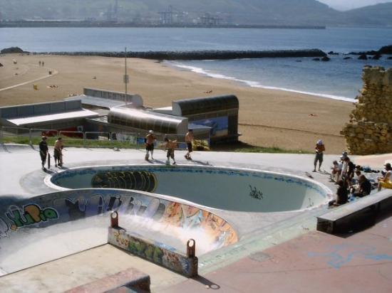 ซานเซบัสเตียน, สเปน: skatepark a Bilbao
