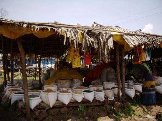 Bahir Dar, เอธิโอเปีย: Mercat de Baher Dar
