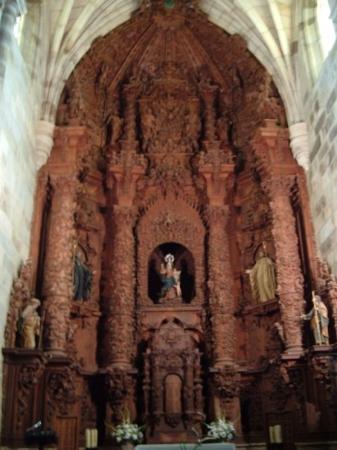Brozas, إسبانيا: Retablo de Santa Maria.