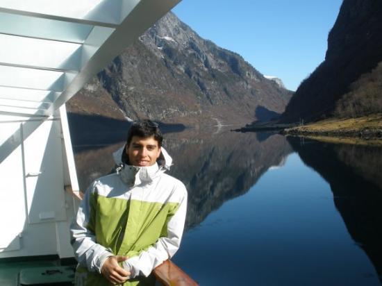 แบร์เกน, นอร์เวย์: Sognesfjor. Bergen, Norway