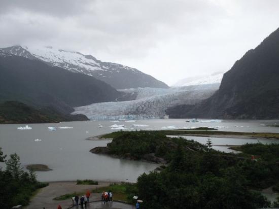 จูโน, อลาสกา: Mendenhall Glacier in Juneau