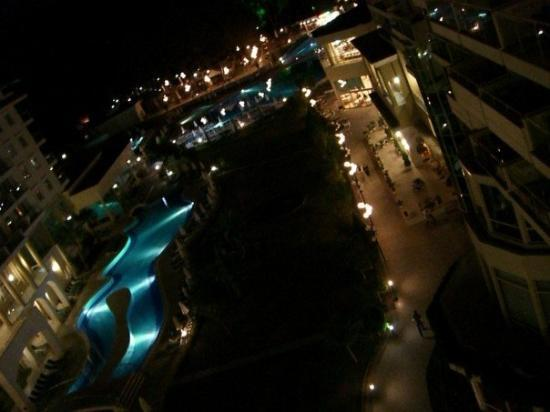 Barut Kemer: The view from the top floor.