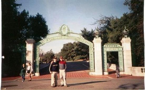 เบิร์กลีย์, แคลิฟอร์เนีย: Ariel y yo en Berkeley