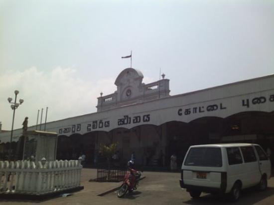 โคลัมโบ, ศรีลังกา: colombo station